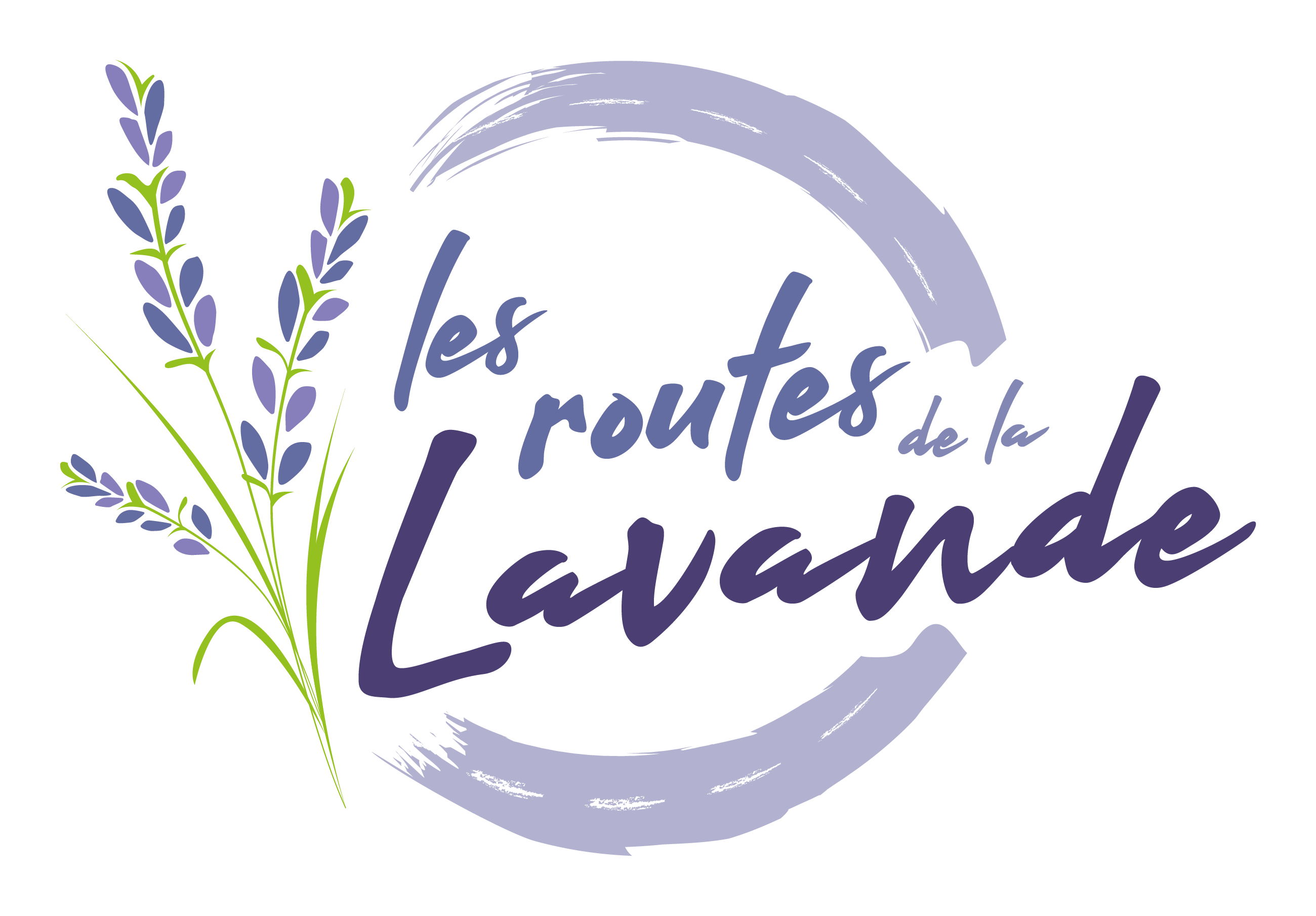 logo Routes de la lavande light